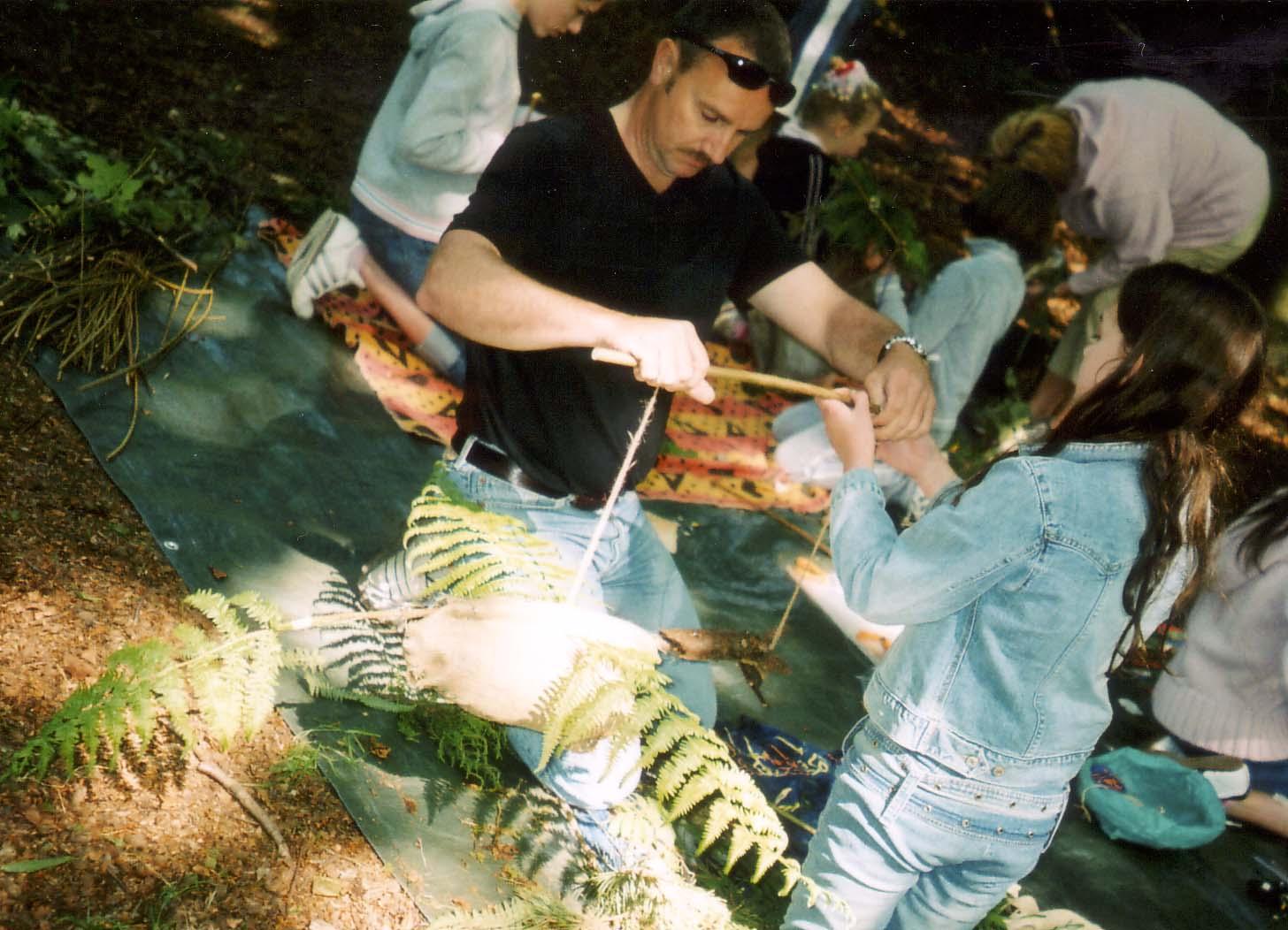 Wild puppet workshop
