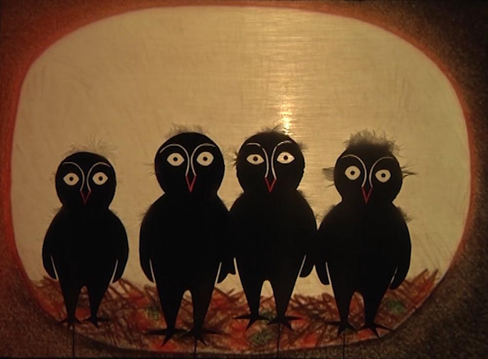 4 owlets